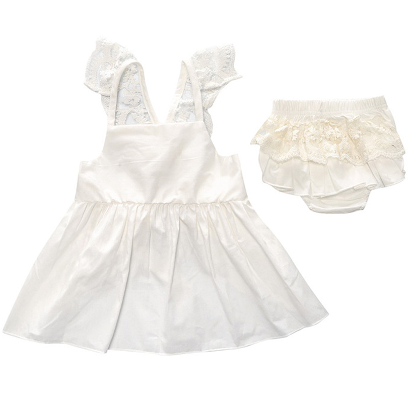 2019 Summer Newborn Baby Girl Clothing Stripe Sling Princess Dress Shorts Pants Clothes Outfit 2pcs Set Roupa Infantil Ropa in Clothing Sets from Mother Kids