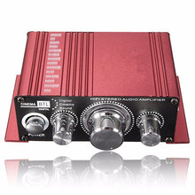 Hot Selling Mini 2CH Hi-Fi Stereo Amplifier Booster DVD MP3 Speaker for Car Motorcycle Home