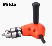 Milda 90 Degree Right Angle Head Electric Drill Bit For Power Drill Bits Tools Power Tool