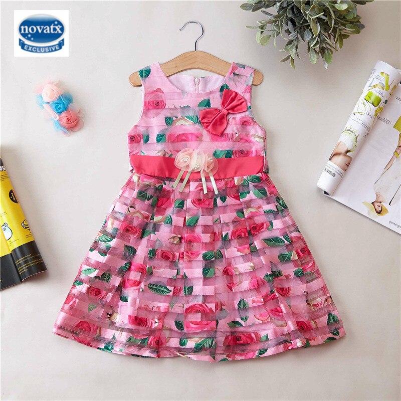 Распродажа летних детских платьев