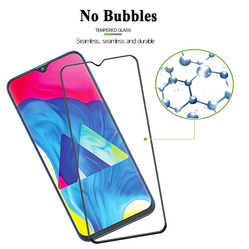 9H Full Tempered Glass For Samsung A20E A10 A90 A70 A50 A40 A30 A9S A8 2018 Screen Protector Galaxy M30 M20 M10 Glass Film Cover in Phone Screen Protectors from Cellphones Telecommunications