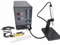 Free shipping Dental Spot Welding Machine Automatic Numerical Control Touch Pulse Argon Arc Welder for Soldering Jewelry tools