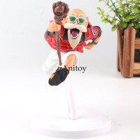 Dragon Ball Figure Master Roshi Figure Turtle Hermit Kamesennin Kame Sennin SCultures Banpresto Figure Colosseum Toy 12cm