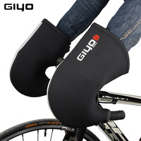 GIYO Winter Warm Cycling Glove MTB Road Bike Bar Gloves Mitts for Bicycle Safety Men Women Wind Rainproof Handlebar Mittens