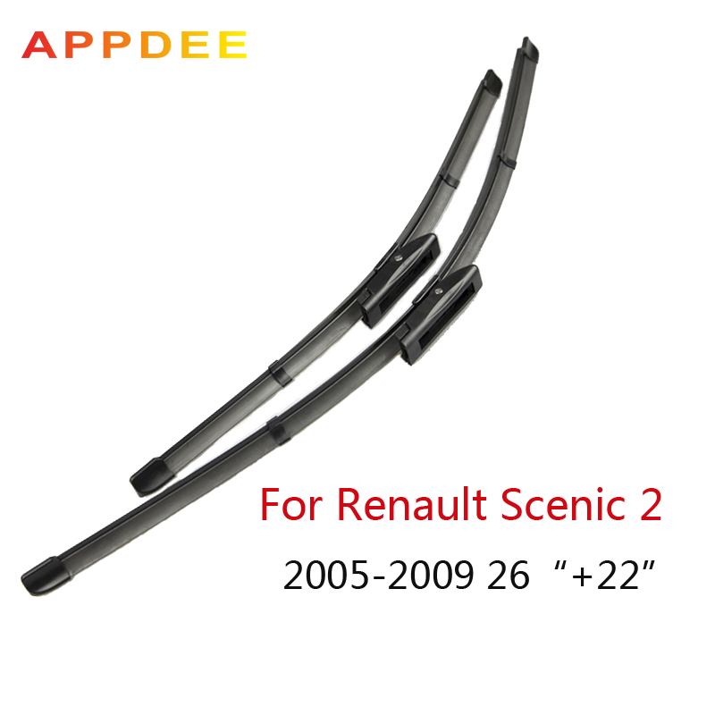 appdee Wiper Blades For Renault Scenic 2 and Grand Scenic