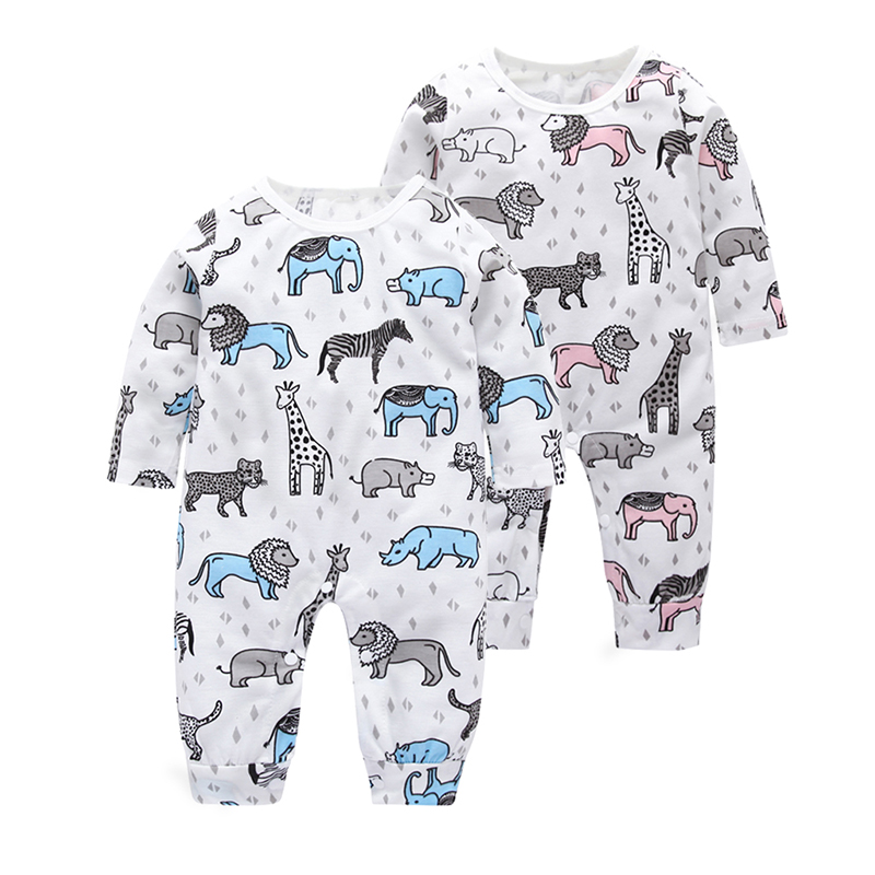 Stylish Allover Sushi Infant Long-sleeve Jumpsuit Newborn Boy Girls print   Romper