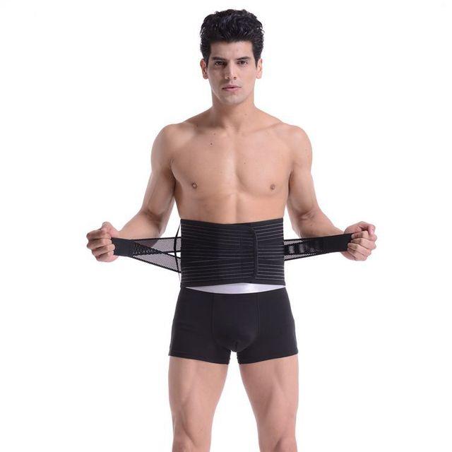 Waist Support For Belts Belt Lumbar Brace Breathable Back Therapy Absorb Sweat Fitness Sport Protective Gear Soporte de cintura 4