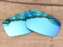 Ice Blue Mirror Polarized Replacement Lenses For Square Wire New 2006 Sunglasses Frame 100% UVA & UVB Protection