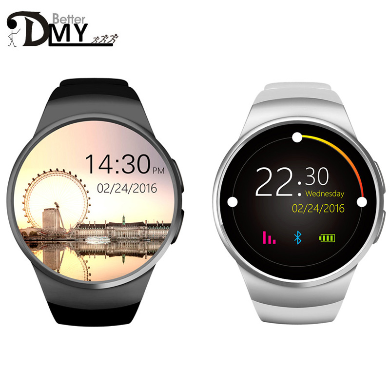 2016 Newest font b Smart b font font b Watch b font KW18 Smartwatch for iphone
