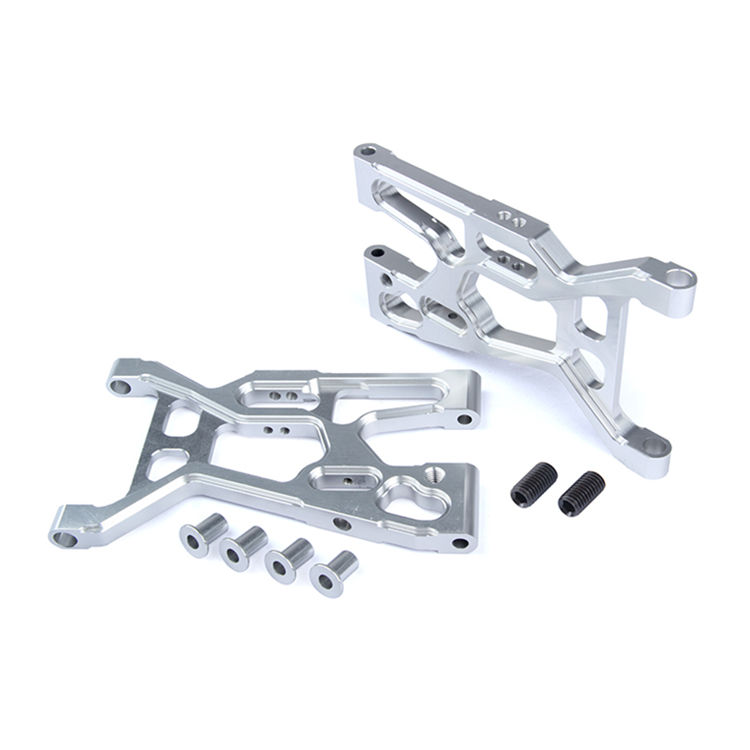 CNC Alloy Front Lower Suspension A Arm Kit for 1/5 Rovan LT Losi 5ive-t DDT 5T RC Car Parts fid cnc alloy remote one key reverse system for losi 5ive t 5t losi mini wrc 1 5 rc car gas
