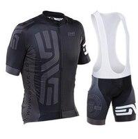 Sommer radtrikot setzt herren pro team radfahren kleidung kurzarm mtb jersey set/kits radfahren bib shorts/hosen 9d pad