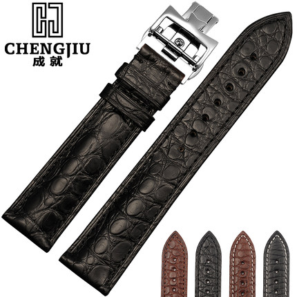 Alligator/Croc Leather Straps For Omega/Vacheron/Constantin/Patek Philippe Watchbands Wrist Bracelet Montre 20 21 22 mm Band Men women crocodile leather watch strap for vacheron constantin melisa longines men genuine leather bracelet watchband montre