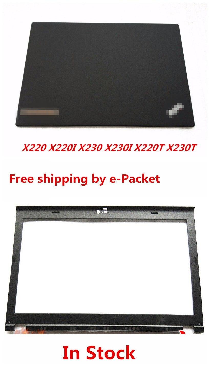 New Laptop LCD Back Cover + Front Bezel Case FOR LENOVO IBM Thinkpad X220 X220I X230 X230I X220T X230T laptop lcd front bezel for asus g60j g60jx g60vx