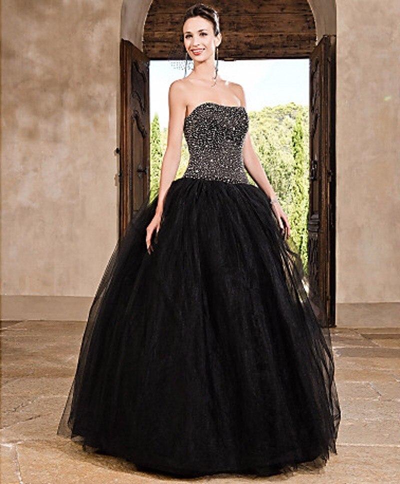 Black Tulle Wedding Dresses for Sale_Wedding Dresses_dressesss