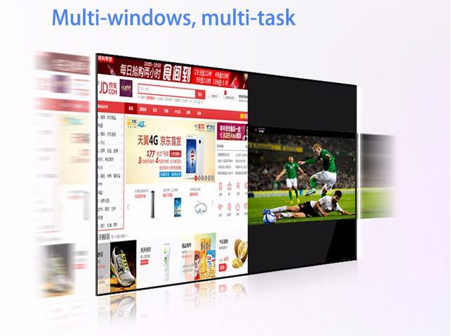 Multi windows multi desk