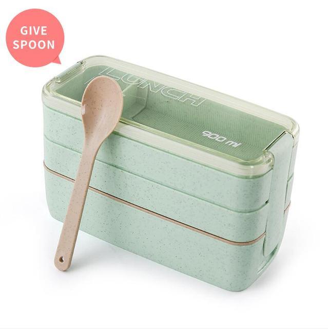 Green Cheap bento boxes 5c6479e2ee2b0