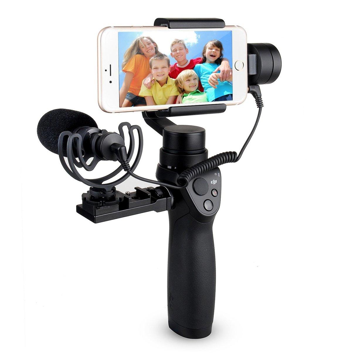 Prix pour COMICA Cardioïde Directionnel À Condensateur Vidéo Microphone pour DJI OSMO/Mobile