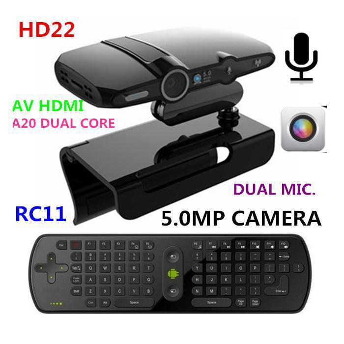 New! 5 0MP and Mic Android TV camera HDMI 1080P 1GB/8GB