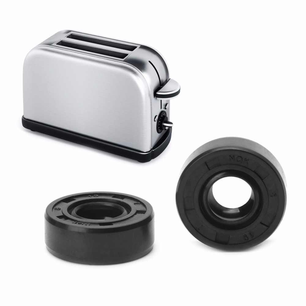 2 pçs/set 8x19x7mm Wearable Panificadoras Sorbet Liquidificador Máquina de Reparação de Peças De Vedação De Óleo Anel