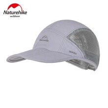 Naturehike сетчатый солнцезащитный козырек от солнца дышащая Кепка быстросохнущая складная шляпа Ультралегкая легкая походная Кепка