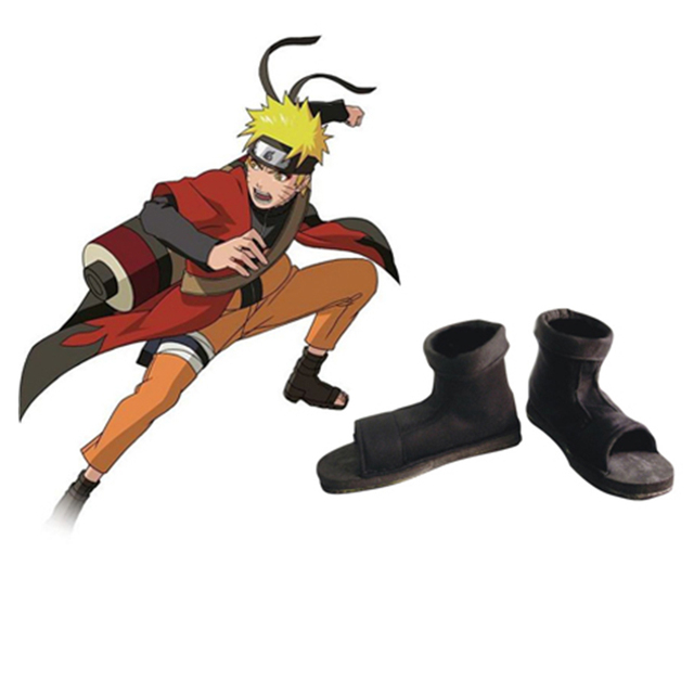 d06855b036b51 US $22.49 25% OFF|Naruto Shoes Naruto Cosplay Black Ninja Cosplay Shoes-in  Shoes from Novelty & Special Use on Aliexpress.com | Alibaba Group
