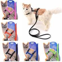 5 coletes ajustáveis do gato do animal de estimação da cor para gatos cozy coelho gatinho kedi arnês coleira conjunto acessórios do gato do cão produtos para animais de estimação