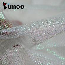 Bimoo 1 ярд жемчужный белый блестящий золотой зеленый красный
