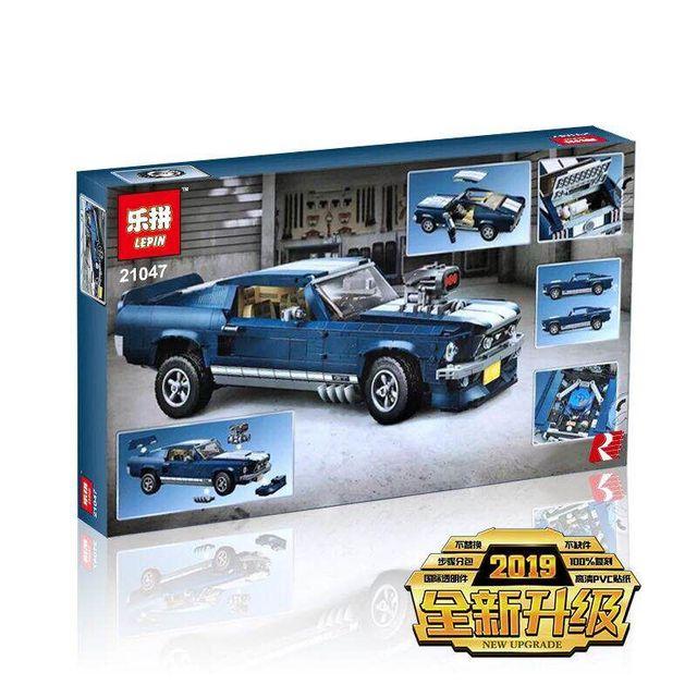 Ford Mustang Building Blocks Bricks