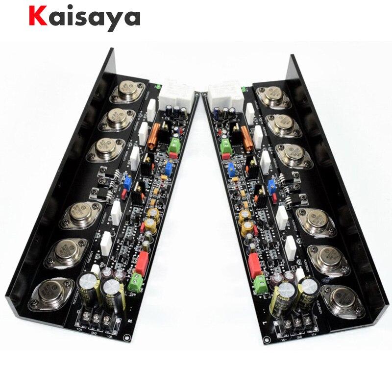 2ชิ้นKSA50วงจรเครื่องขยายเสียง50วัตต์+ 50วัตต์MJ15024G/MJ15025G/MJE15034/MJE15035 Class Aบริสุทธิ์หลังจากชั้นA Mplifierคณะกรรมการ-ใน เครื่องขยายเสียง จาก อุปกรณ์อิเล็กทรอนิกส์ บน AliExpress - 11.11_สิบเอ็ด สิบเอ็ดวันคนโสด 1