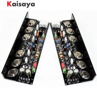 2pcs KSA50 Amplifier Circuit 50W+50W MJ15024G/MJ15025G/MJE15034/MJE15035 Class A Pure After Class Amplifier Board