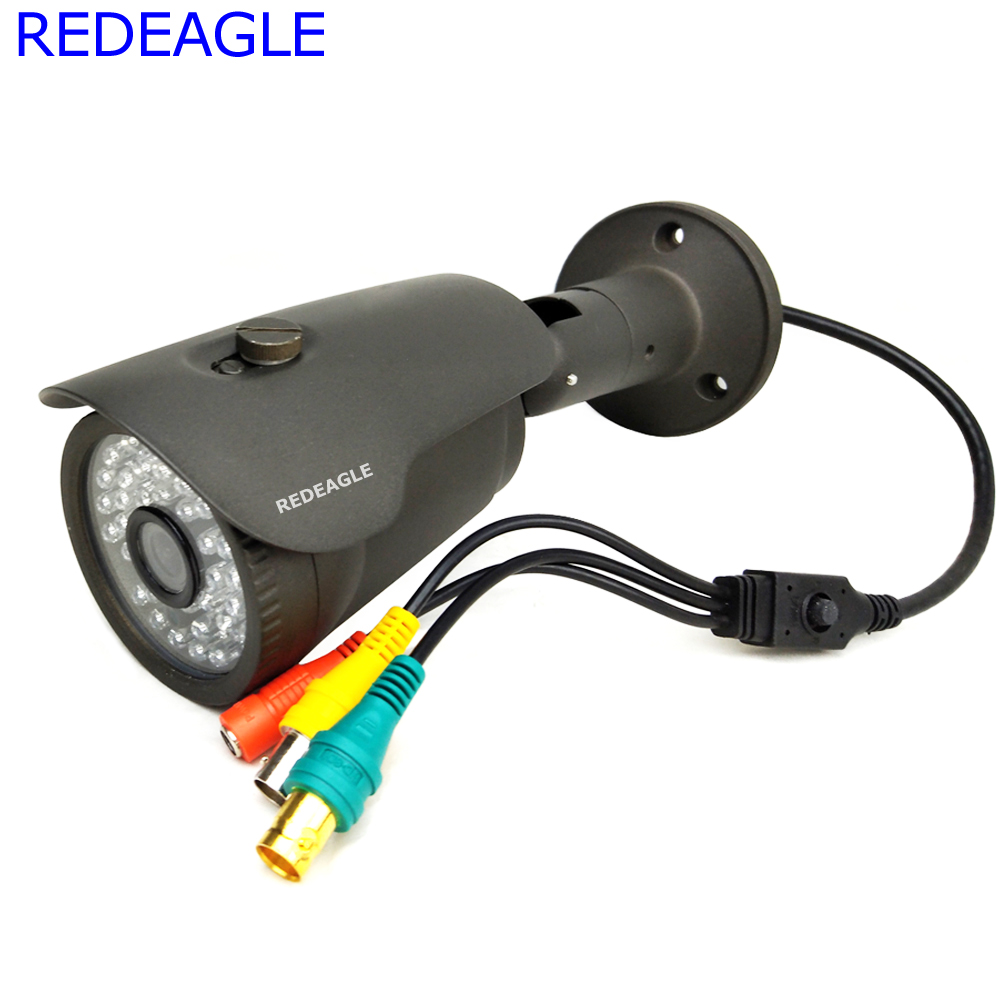 REDEAGLE 2 1MP 1080P HD SDI Camera 42pcs IR Night Vision Outdoor Waterproof Security Cameras Full