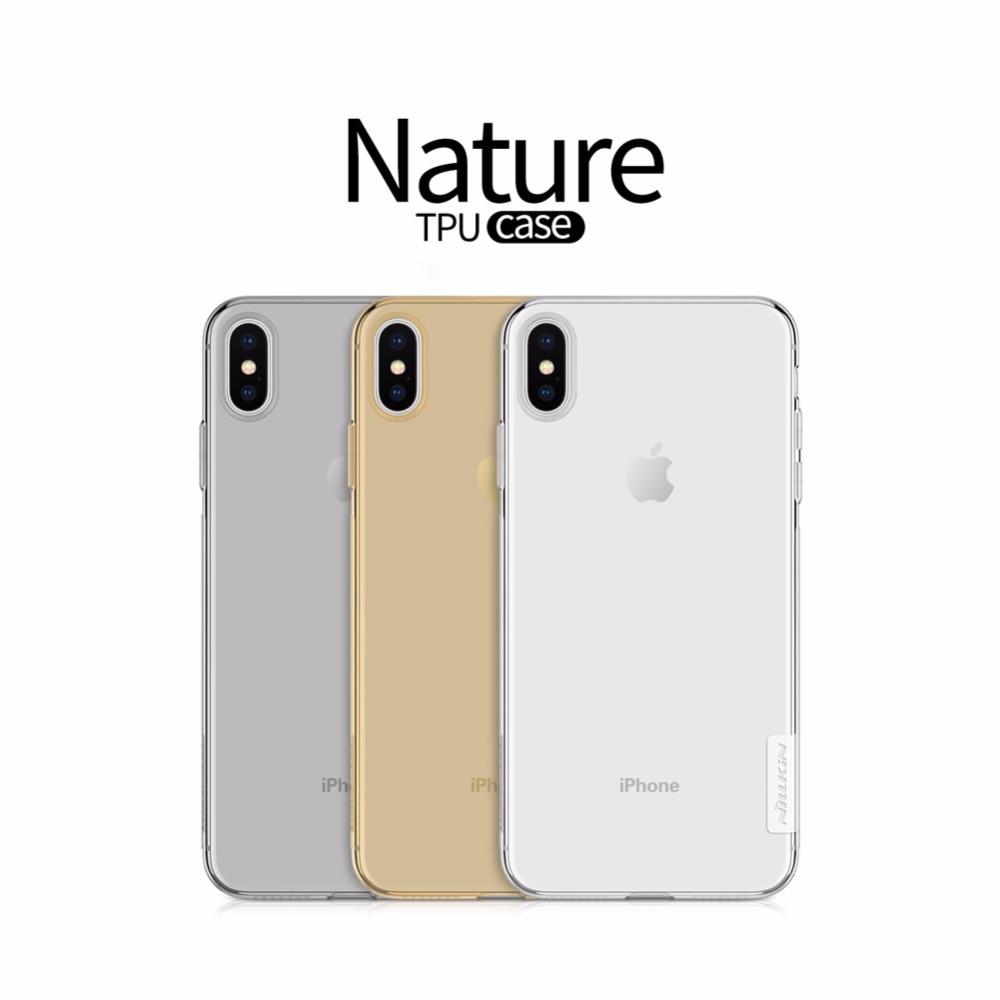 Funda iPhone 6 6S NILLKIN Nature Transparente - Comprar en Tienda