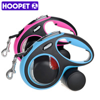 HOOPET Pet Dog Led Leash Automatic Traction High Retractable Comfortable Adjustment Handle Sturdy Material Pet Supply