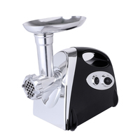 Home Electric Meat Grinder Sausage Stuffer Stainless Steel Mincer Maker Silver Meat Fish Cutter Cutting Machine 3 Colors