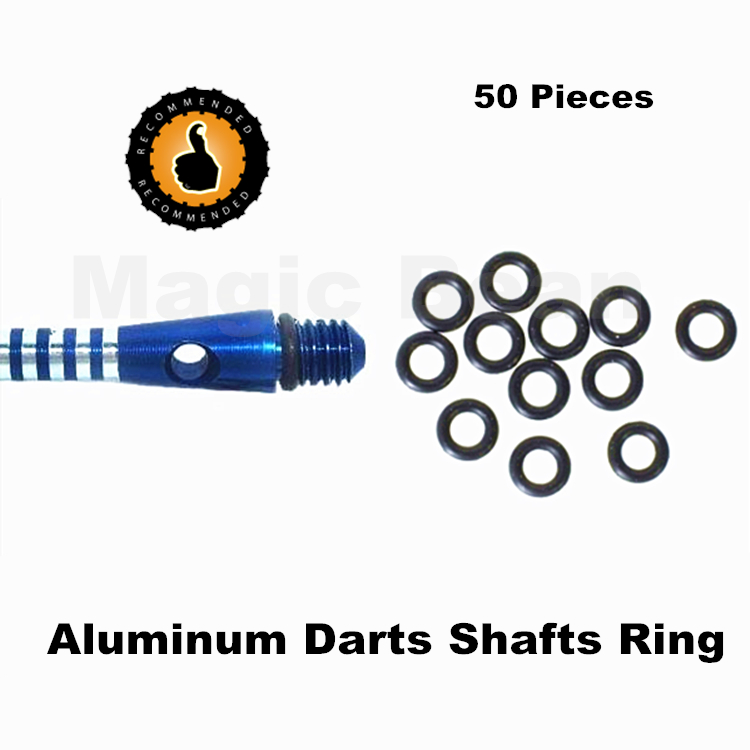 Free Shipping Professional Aluminum Darts Shafts Ring; Dart Accessories; 50/100 Pieces