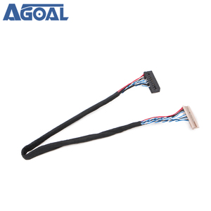 Image 5 - Uniwersalny 1ch 6 bit 20 szpilki kabel LVDS 20pin pojedynczy 6 6 bit dla 12 cal 15 cal panel LCD
