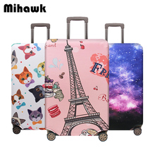 Mihawk Unisex Travel Suitcase Protective Cover Trolley Thick