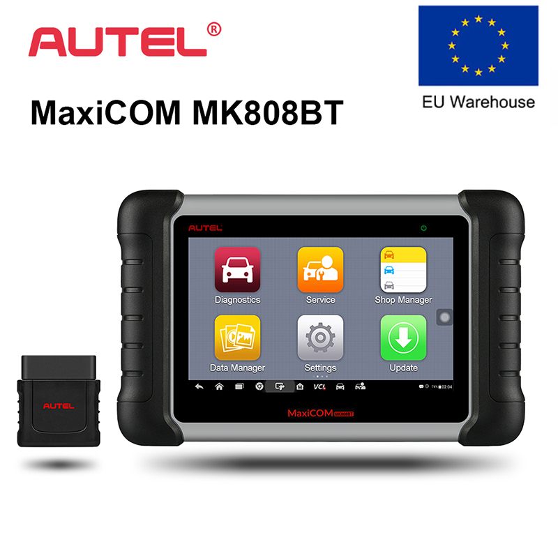 Autel MK808BT OBD2 OBD Ferramenta De Auto Diagnóstico do Scanner Leitor de Código De Automóvel 2 ODB2 Programador Chave Diagnóstico Melhor Para Lançar X431
