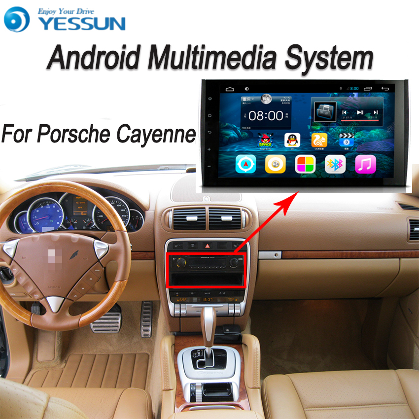 YESSUN For Porsche Cayenne 2006~2010 Android Car GPS Navigation DVD player Multimedia Audio Video Radio Multi-Touch Screen