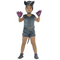 2017 Kids Children Short Animal Elephant Costume Stage Perfromance Cosplay Clothing Halloween Birthday Fancy Dress Supplies