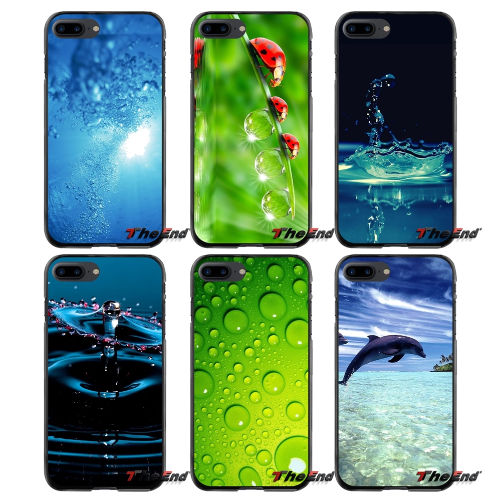 Live Water Accessories Phone Cases Covers For Apple iPhone 4 4S 5 5S 5C SE 6 6S 7 8 Plus X iPod Touch 4 5 6