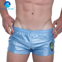 Marca Sexy Men Praia Board Shorts Sweatpants Gailang Suspiro Curto Bottoms Swimwear Maiôs Troncos Boxer homens Atleta de Fitness