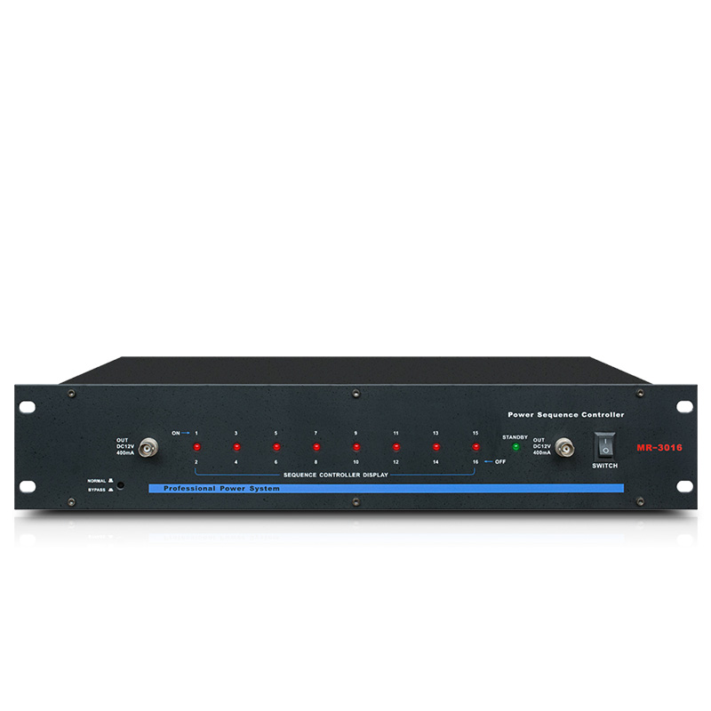 MR 3016 power supply sequence automatic power strip effective protection switch to improve stability 16 socket