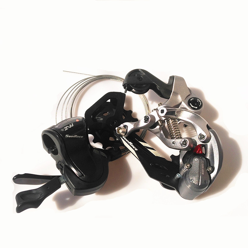 SunRace 12 Speed Thumb Shifter and Rear Derailleur  MTB Mountain Bike AccessoriesSunRace 12 Speed Thumb Shifter and Rear Derailleur  MTB Mountain Bike Accessories