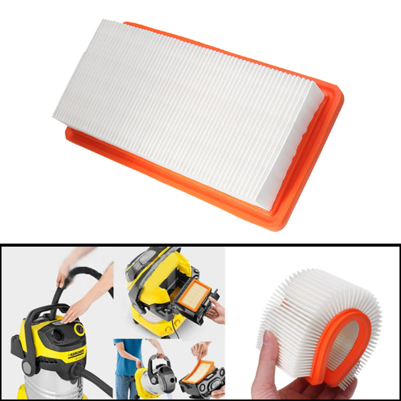 Washable HEPA Filter For Karcher DS5500 DS5600 DS5800 Filter Vacuum Cleaner Replacement For Karcher 6.414-631.0 Filters 1 Pcs replacement filter vacuum cleaner hepa for karcher ds5500 ds6000 ds5600 ds5800 y05 c05
