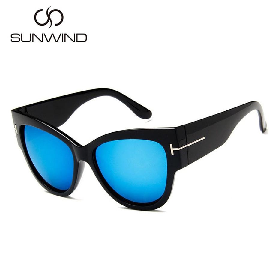 2018 Cat Eye Sunglasses Wanita Merek Mewah Designer Vintage Sun - Aksesori pakaian - Foto 4