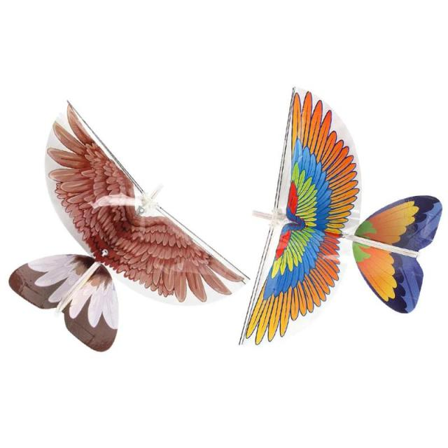 Diy Electric Rc Kite Flying Bird Animal Toys Eagle Parrot Type Remote Control Mini Plane Outdoor Travel Play For Kids