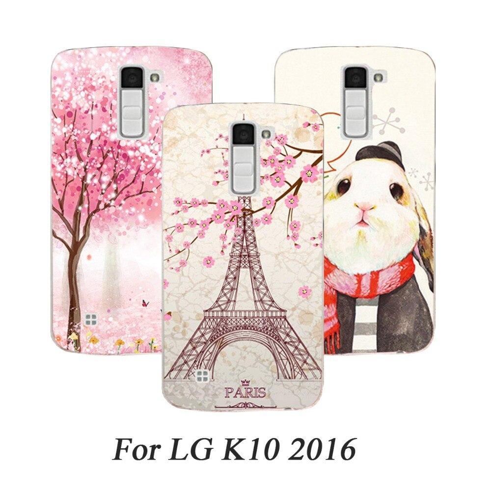 Phone Case For Lg K10 LTE K420N K430 K430DS Cases Hard Painted Cover For LG C40 C50 C70 C90 F60 F70 G Flex 2 G E975 Case Fundas