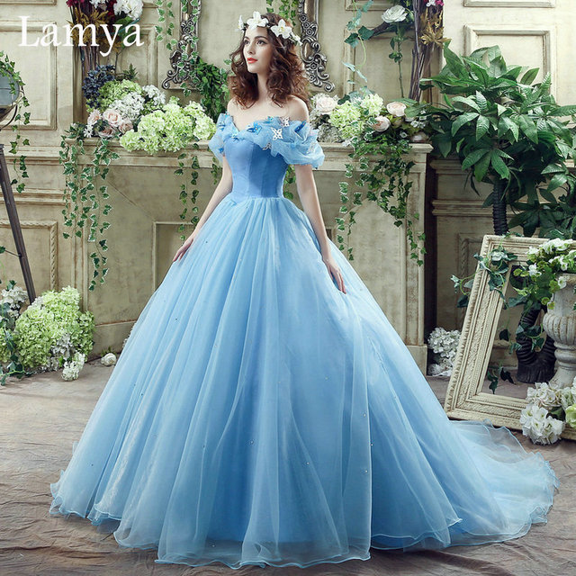 In Stock Princess Vintage Ball Gown Wedding Dress 2016 Real Photo ...