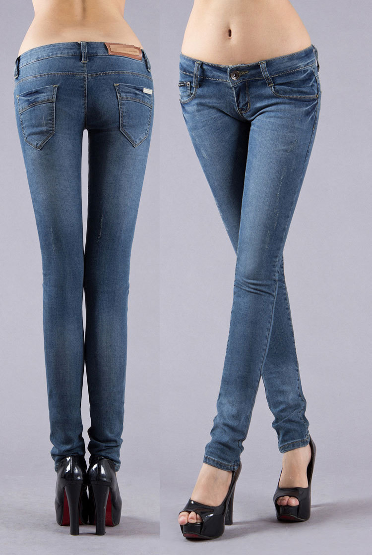 Aliexpress.com : Buy New 2015 women&39s low waist jeans young woman